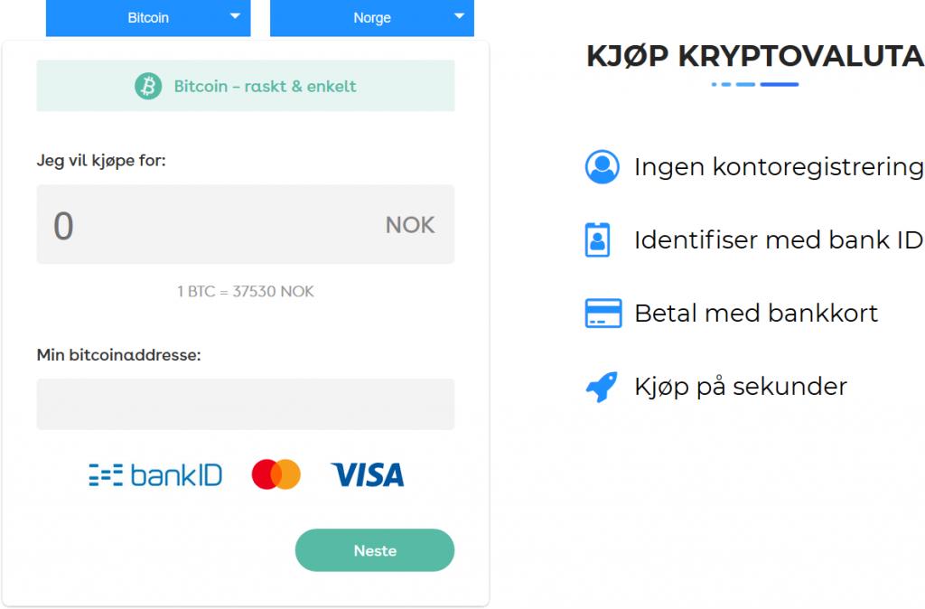 Introduserer HandleKrypto: Den raskeste vei til kryptovaluta. Kjøp kryptovaluta med bankkort på sekunder. Konverter kryptovaluta raskt og enkelt på1–2–3. 1